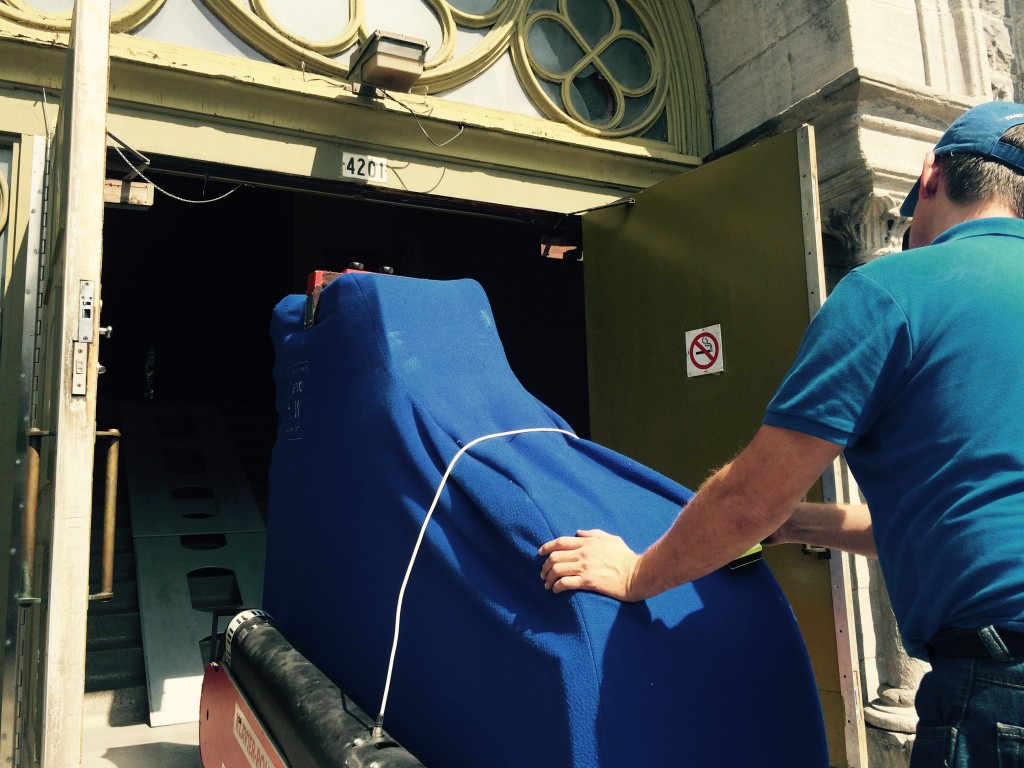 Our piano movers in Montreal can also tune your piano