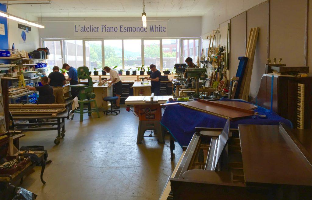 La gamme de services de pianos complémentaires offerts par Piano Esmonde White